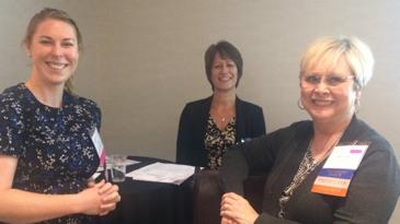 Research nurses present award winning work at international conference